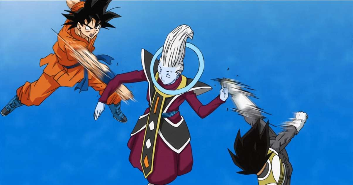 Dragon Ball Super Goku Vegeta Rivalry