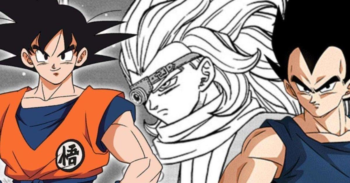 Dragon Ball Super Granolah Goku Vegeta