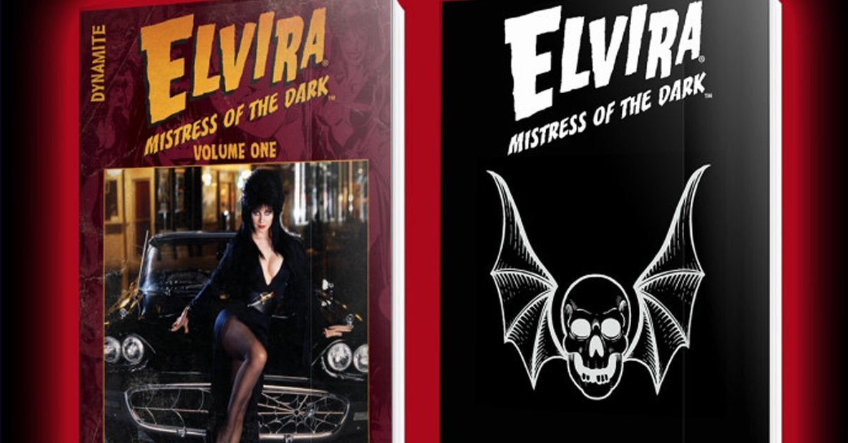 elvira mistress of the dark comic book classic collection header