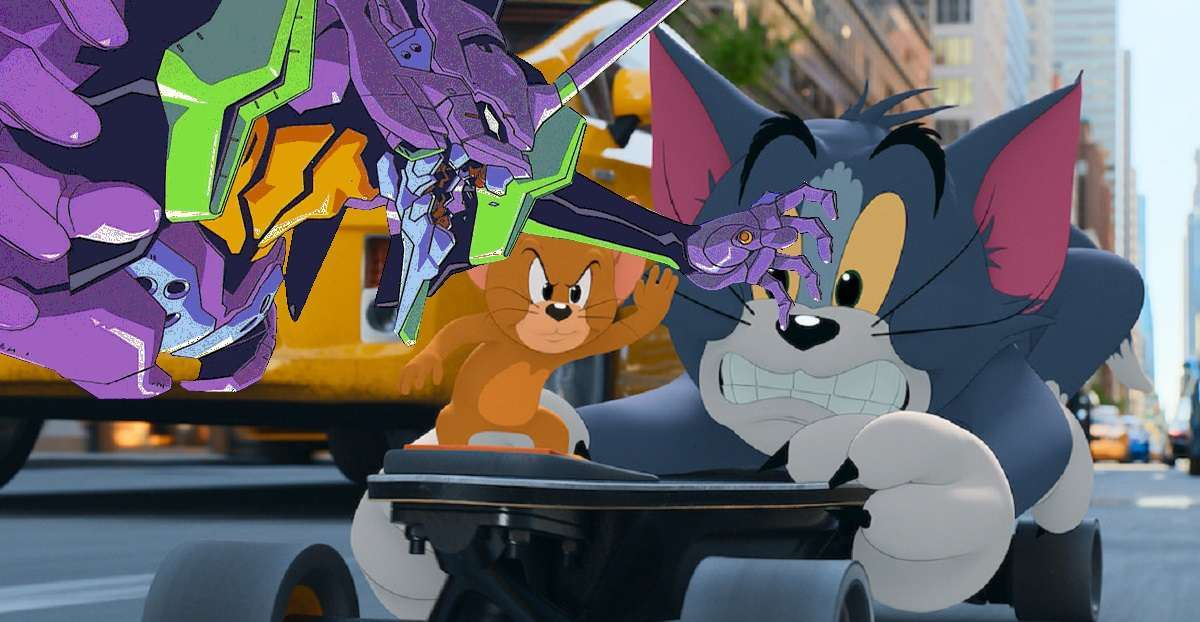 Evangelion Tom And Jerry