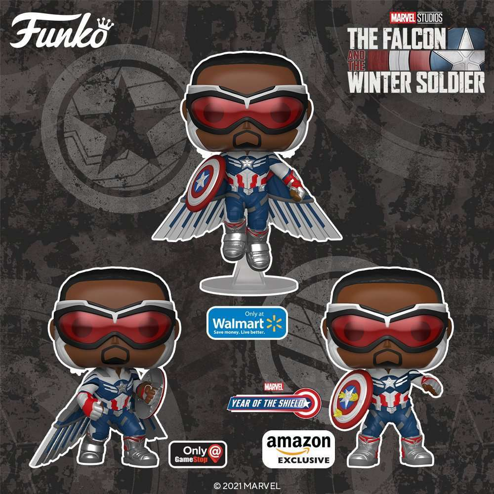 The Falcon and the Winter Soldier Finale Funko Pops and Soda Are On Sale Now