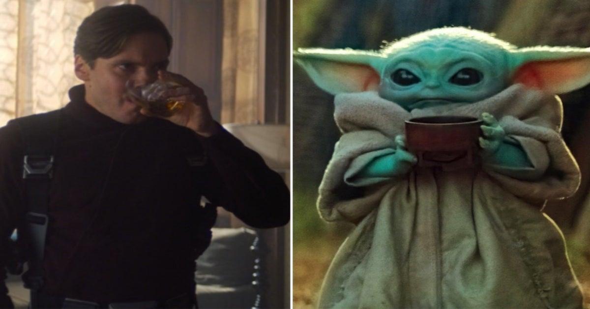 Falcon Winter Soldier Sipping Zemo Baby Yoda meme ComicBookcom