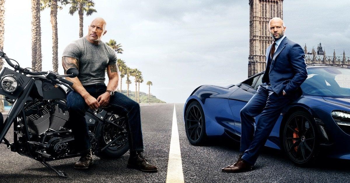 Fast and Furious Hobbs and Shaw Dwayne Johnson Jason Statham