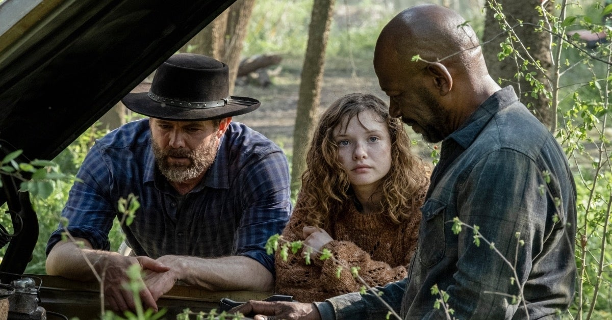 Fear the Walking Dead John Dorie Morgan Dakota