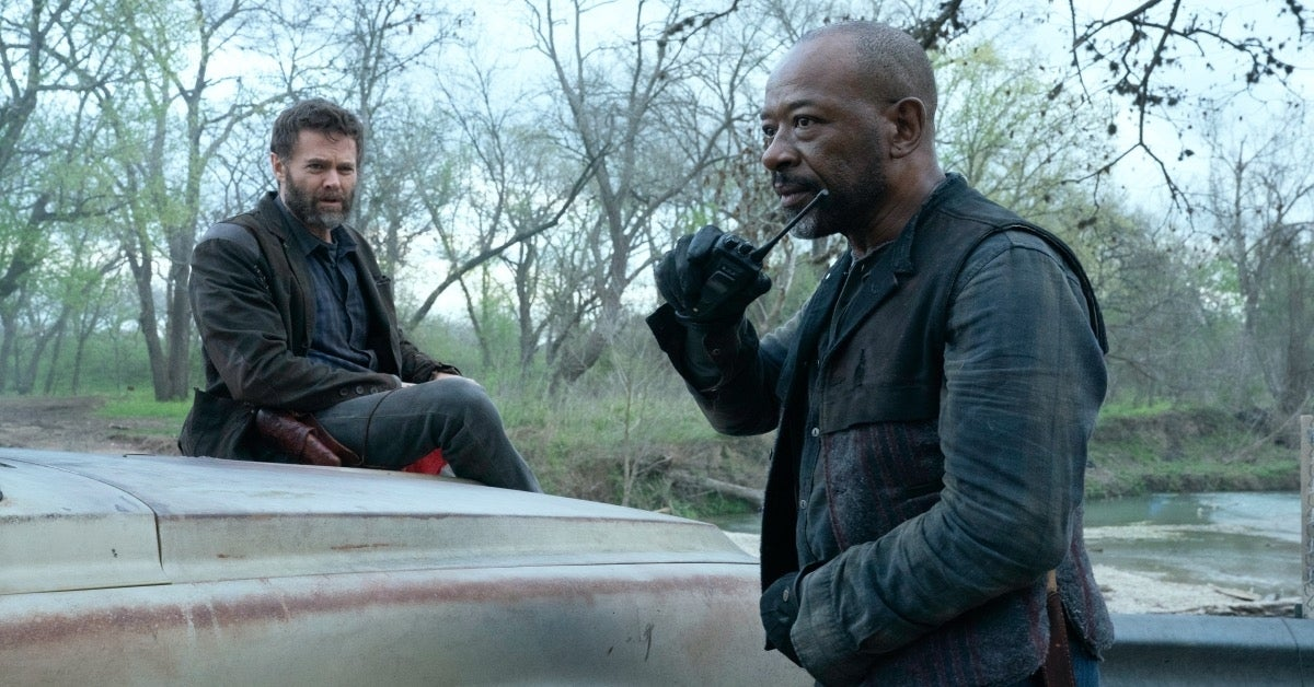 Fear the Walking Dead John Dorie Morgan Jones
