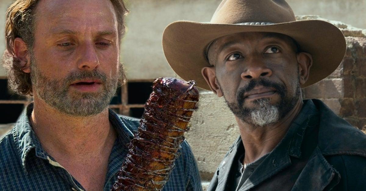 Fear the Walking Dead Morgan Jones Rick Grimes