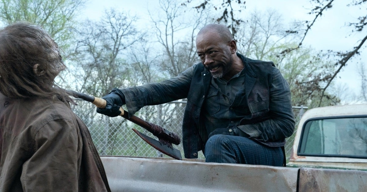 Fear the Walking Dead Who Saved Morgan Lennie James