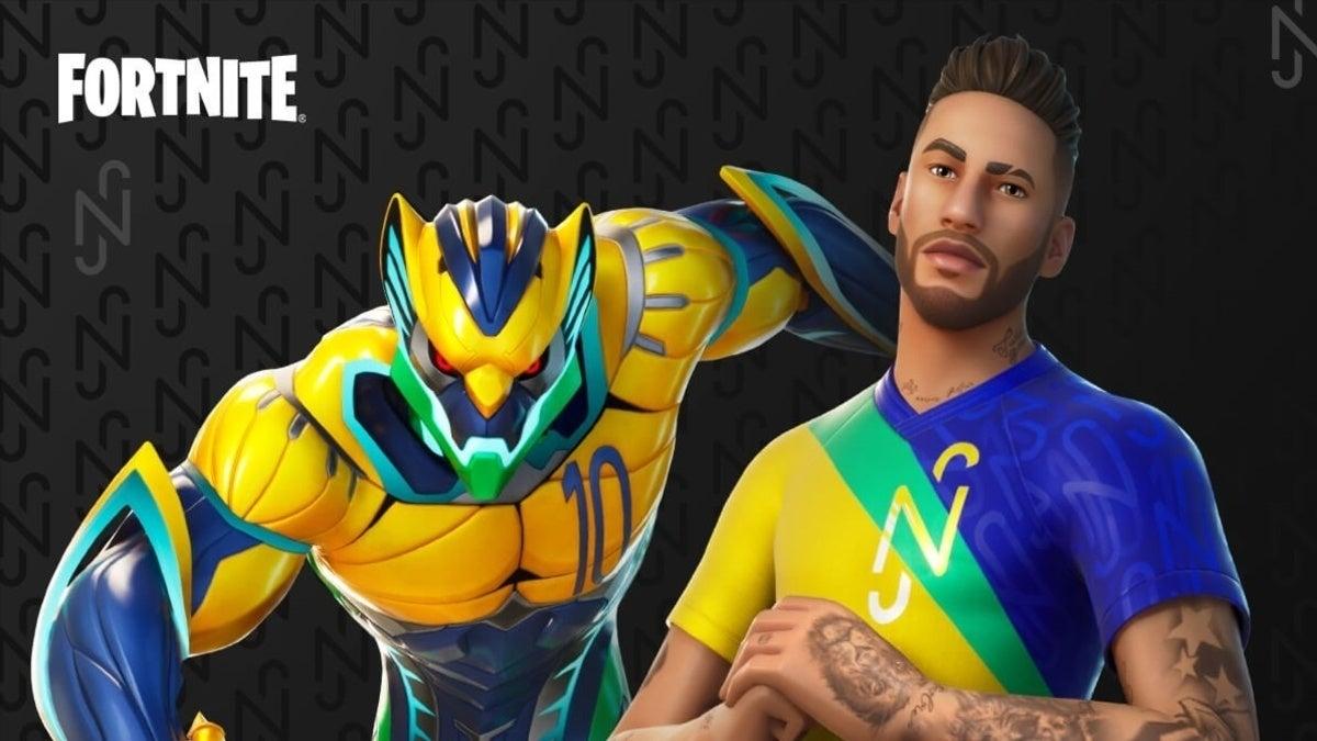 Fortnite Neymar