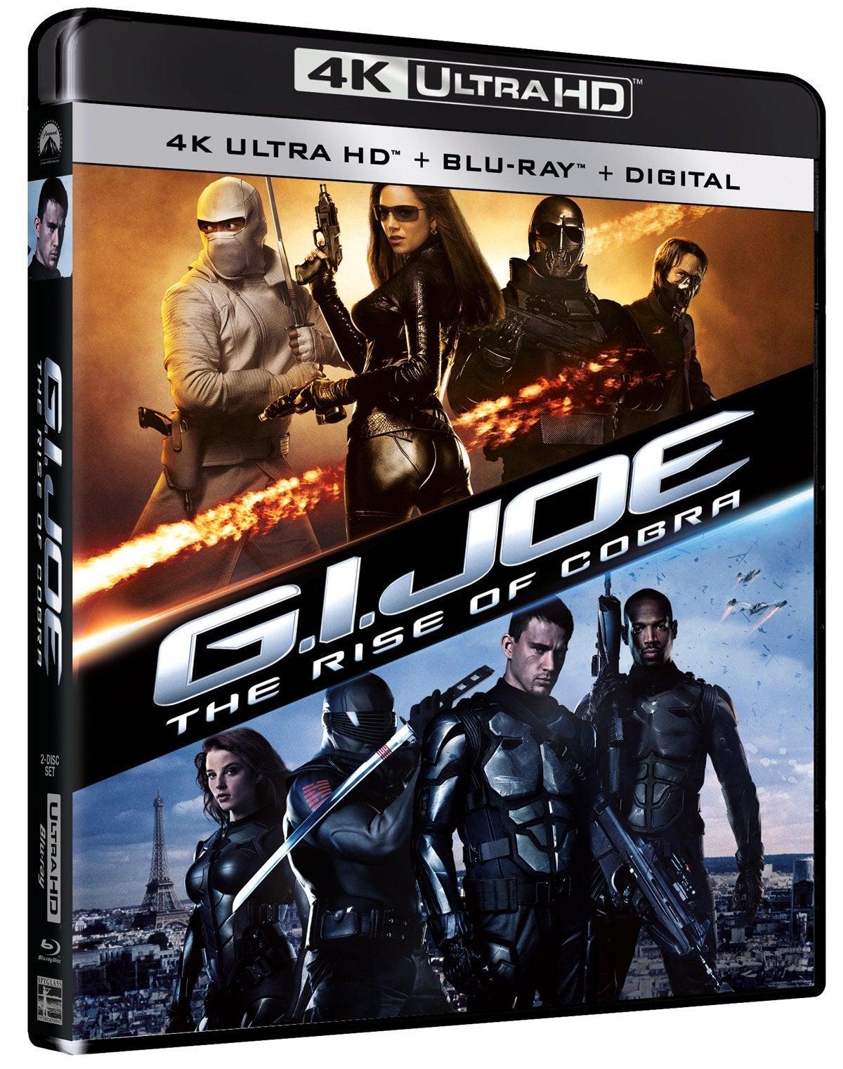gi joe the rise of cobra 4k blu ray cover