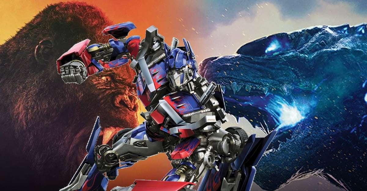 Godzila-vs-Kong Transformers