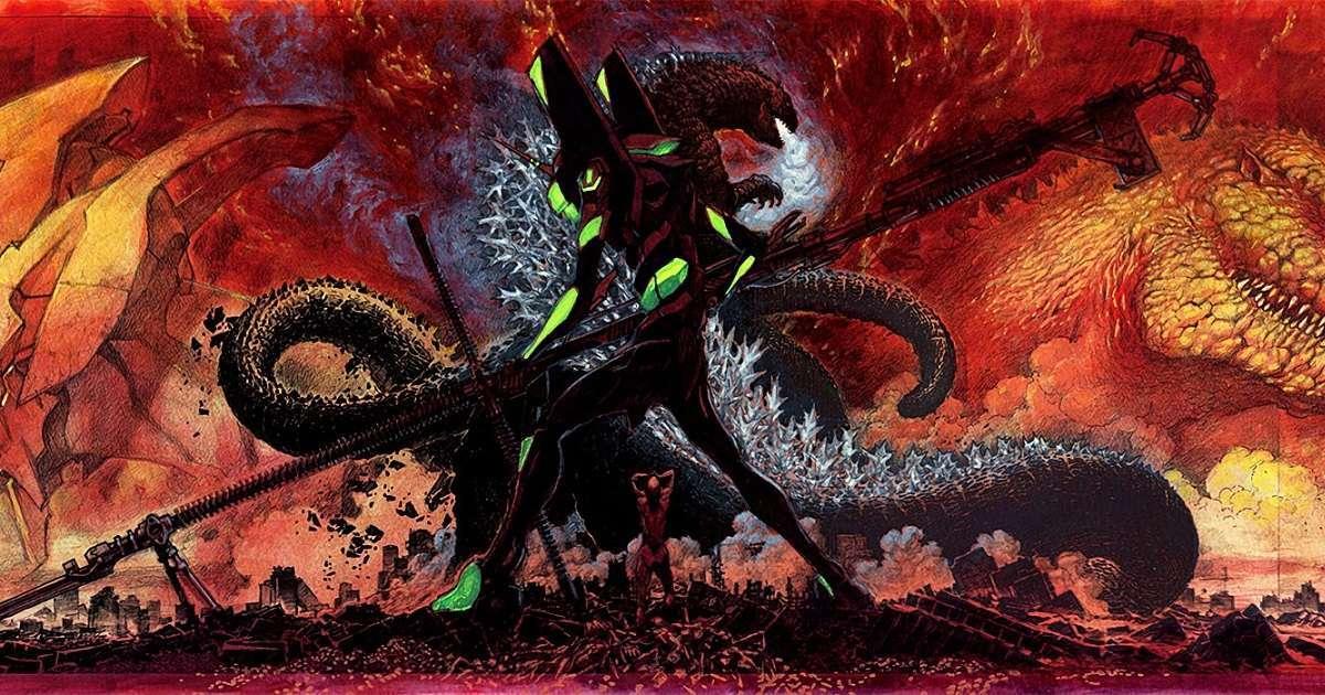 Godzilla Director Evangelion