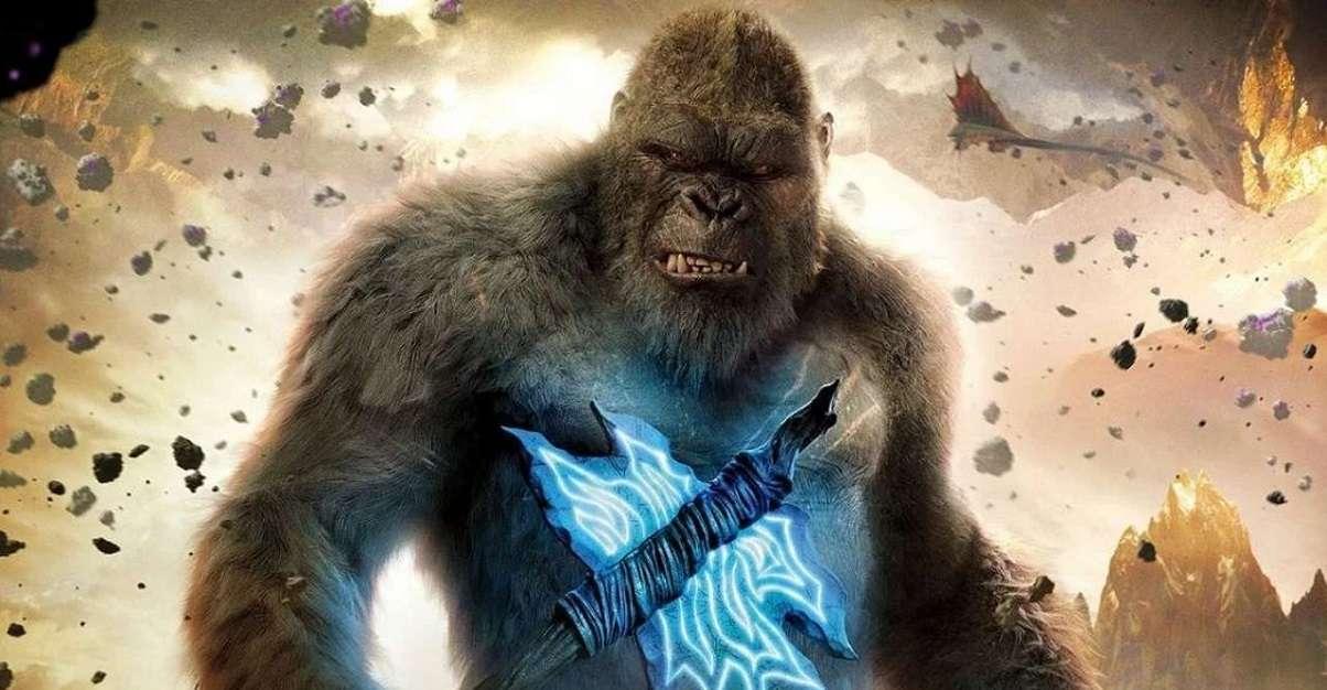 Godzilla Kong Ax