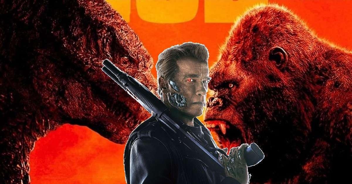 Godzilla Kong Terminator