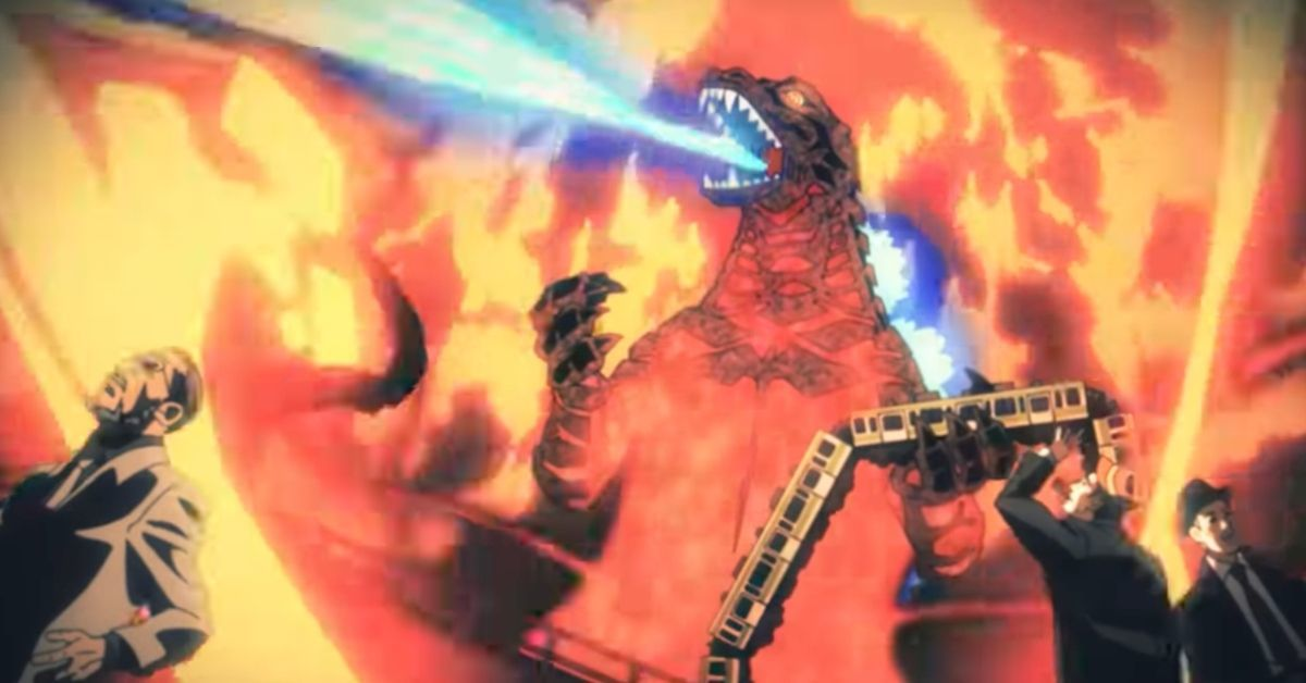 Godzilla Singular Point ED Netflix Anime