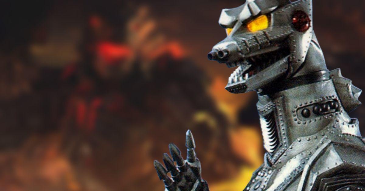 Godzilla vs Kong Mechagodzilla Design Concept Art