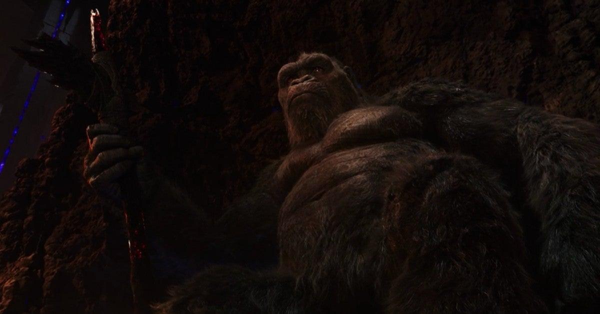 Godzilla vs Kong Throne Scene