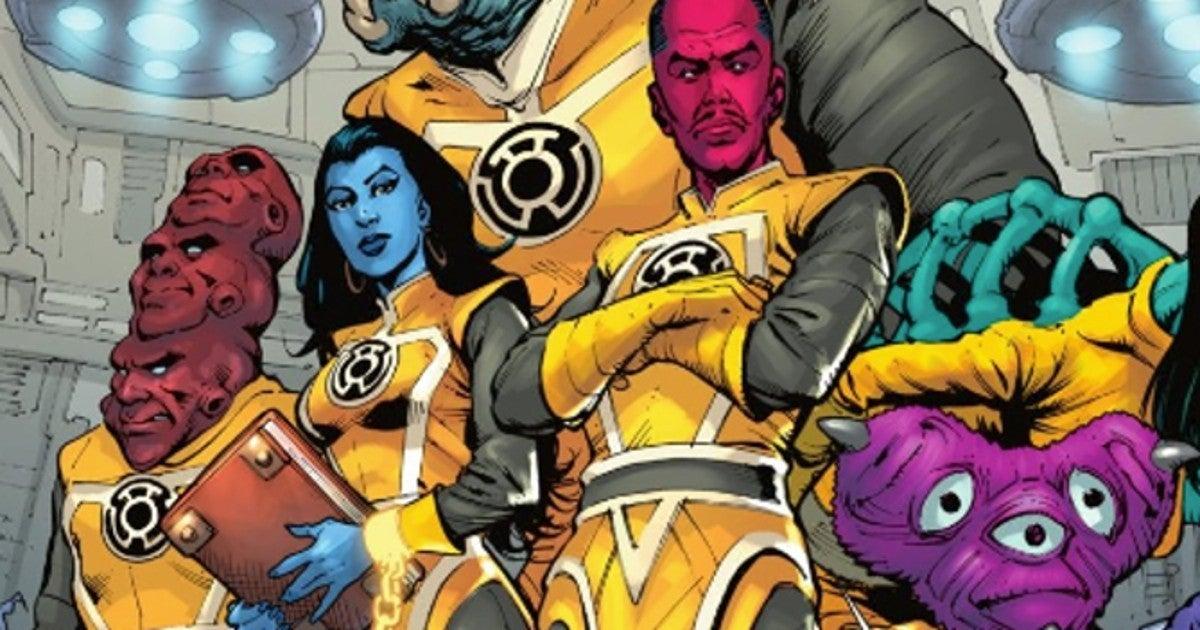 Green Lantern Sinestro Corps New Costumes