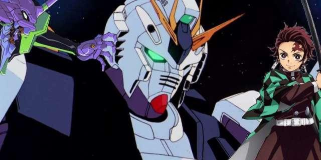 Gundam Destroy Demon Slayer Evangelion