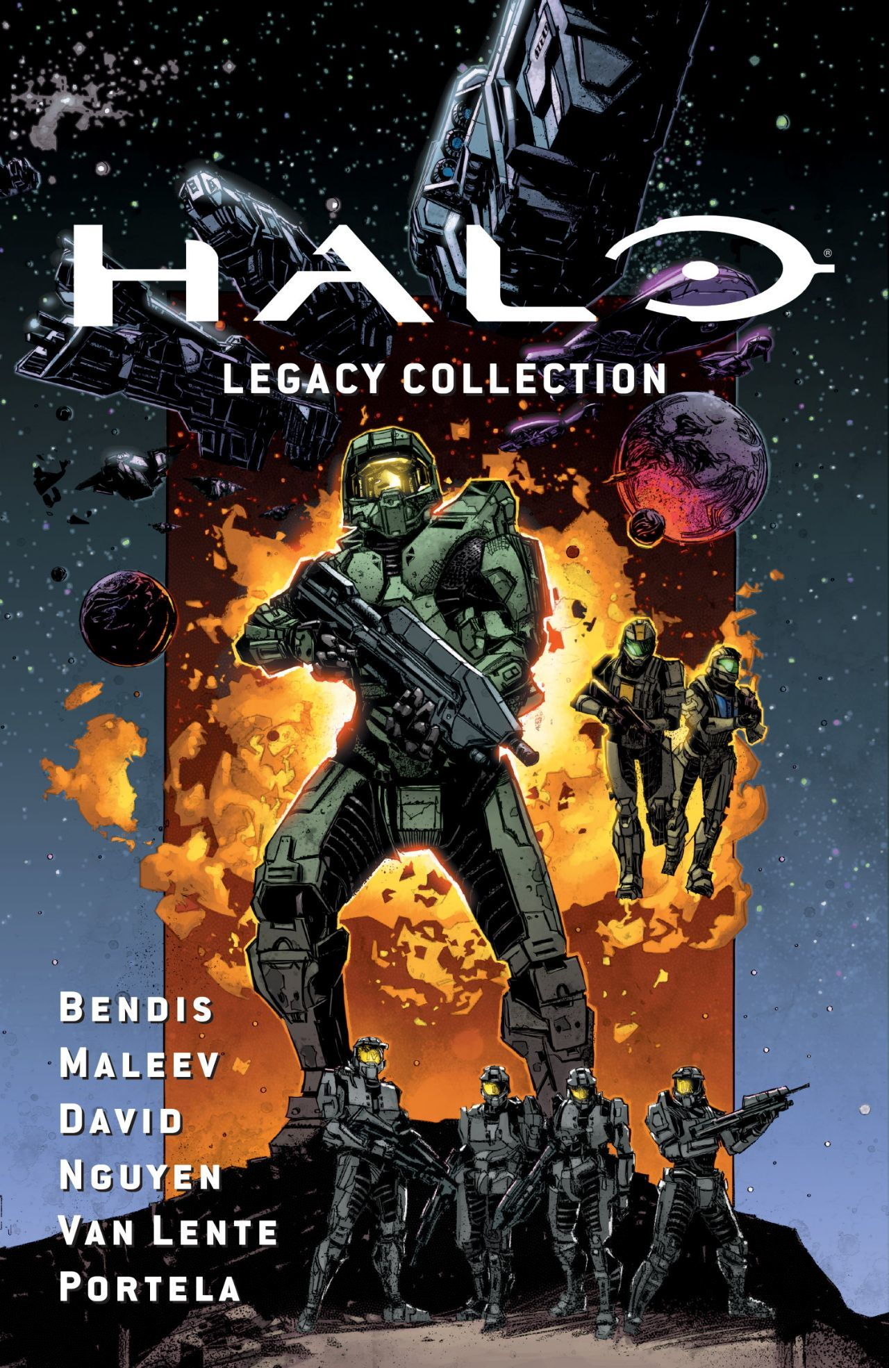 halo legacy collection cover