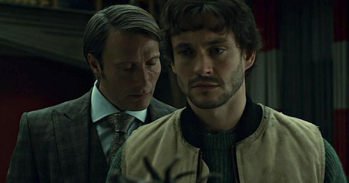 hannibal and will sitting in a tree