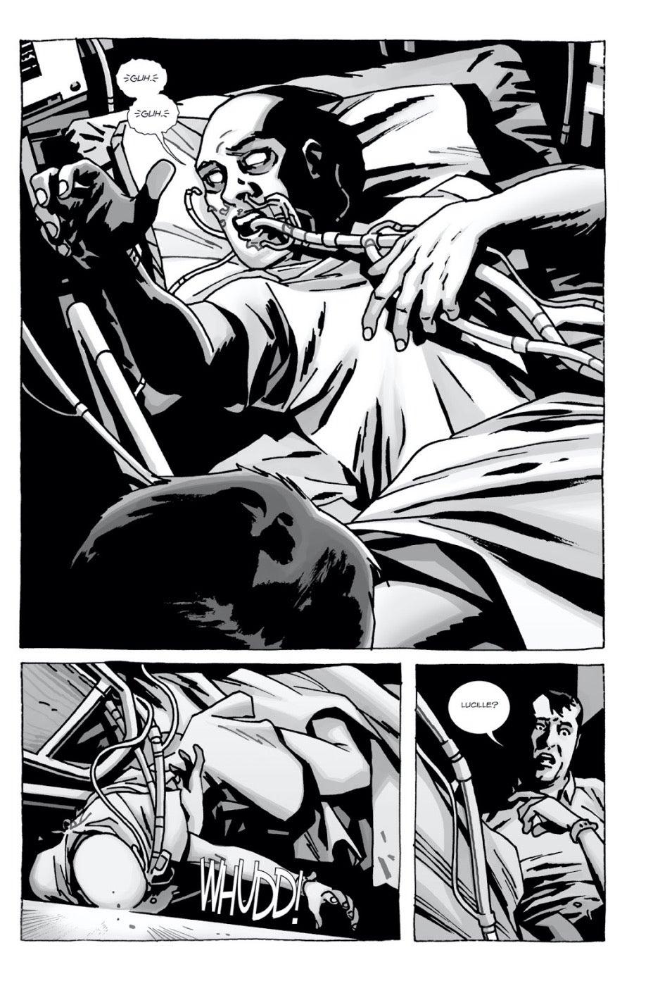 Here's Negan comics Lucille dies