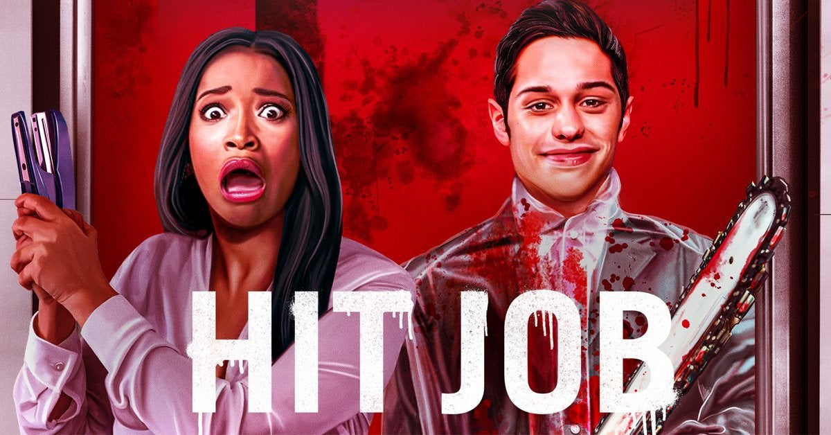 hit job audible series cover poster