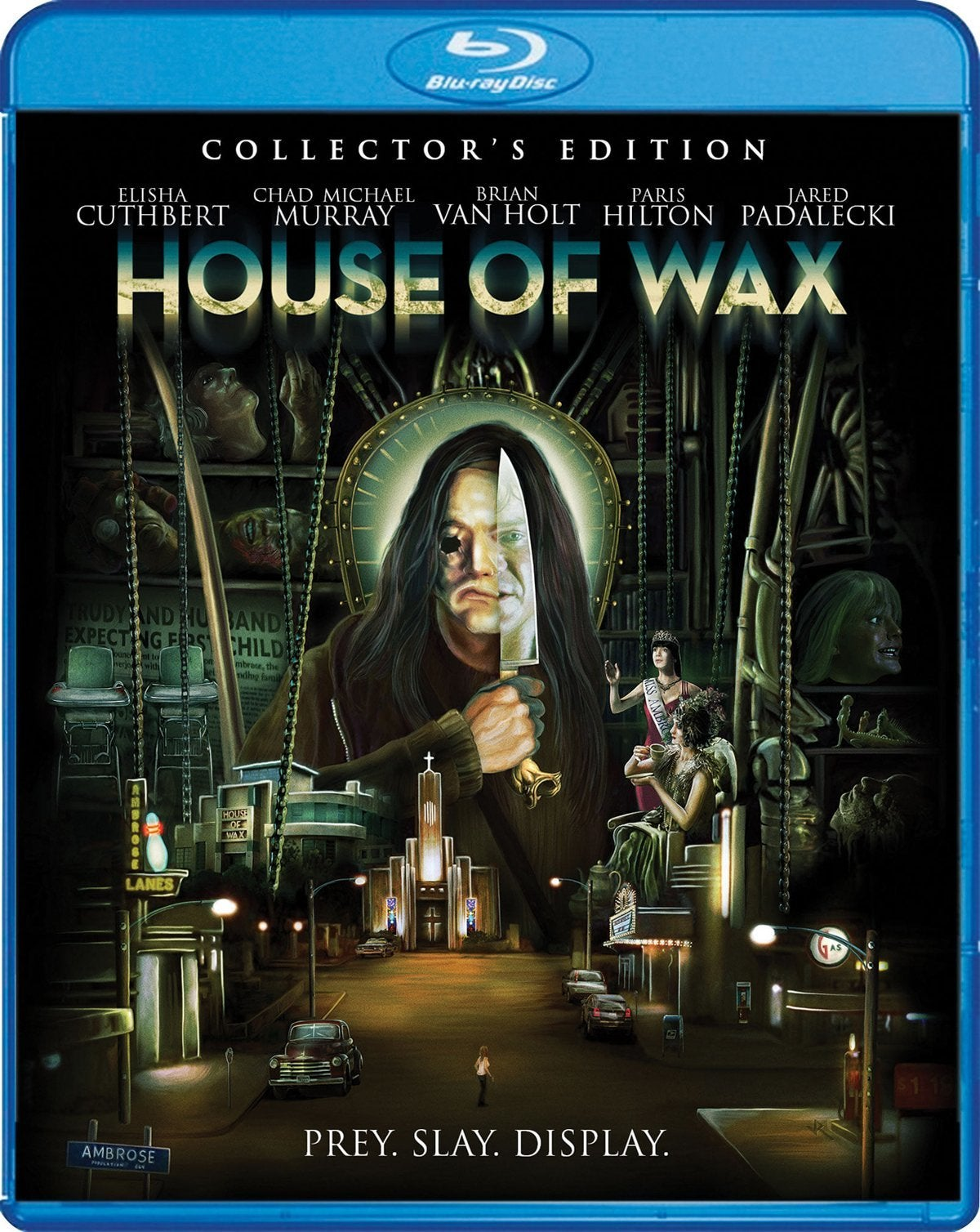 house of wax blu ray scream factory