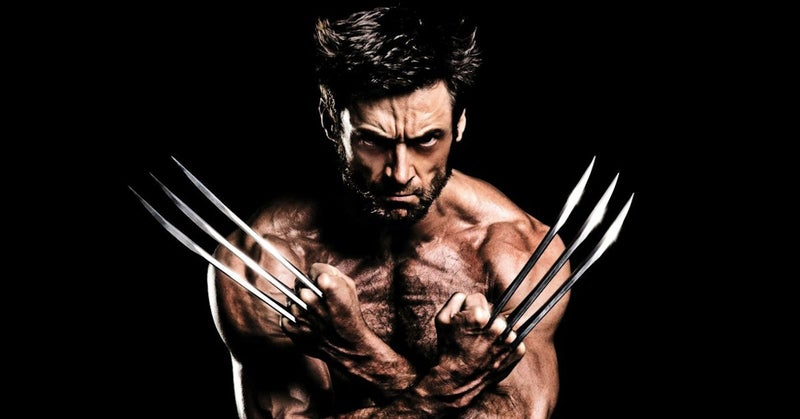 Hugh Jackman Wolverine Claws Fork Eating Breakfast