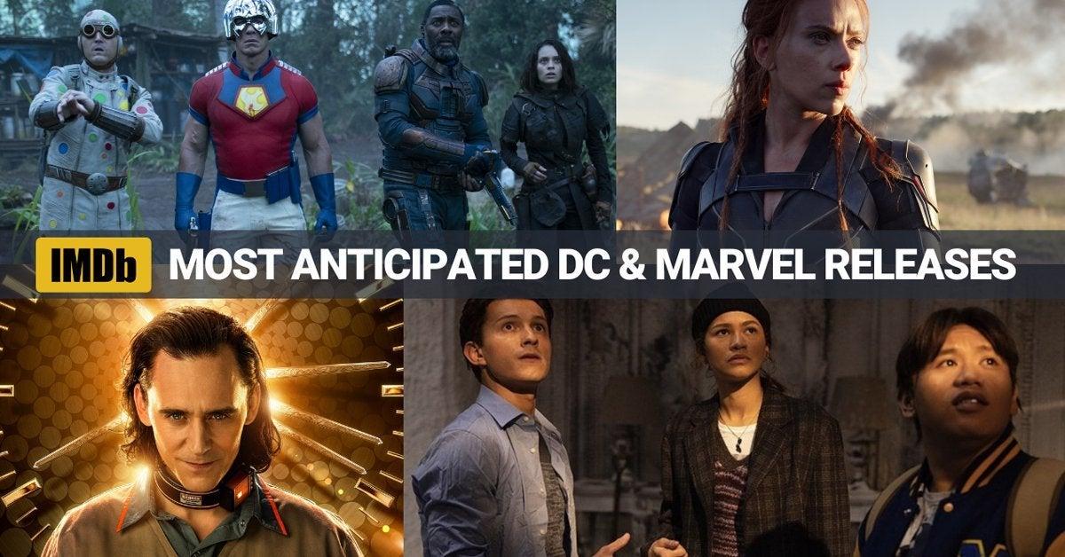 imdb marvel dc comics most anticipated