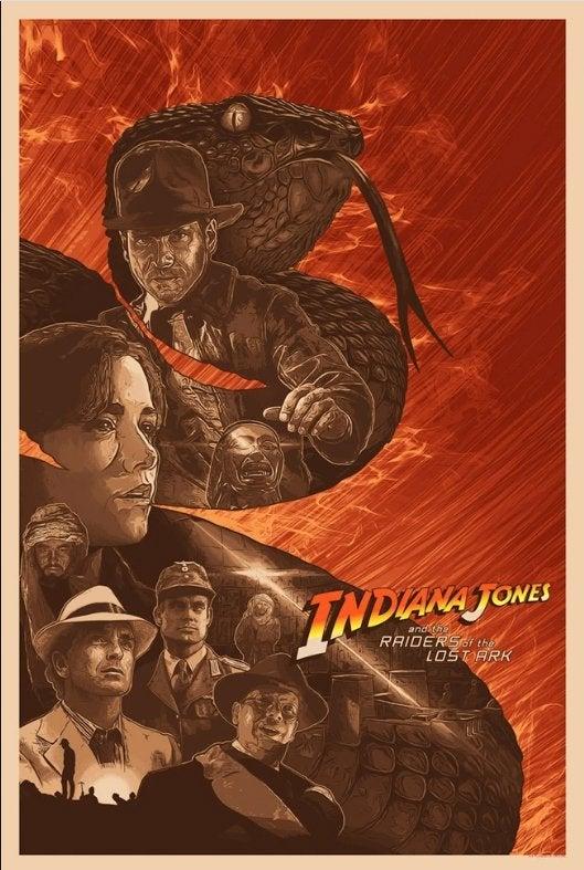 indiana jones raiders of the lost ark poster