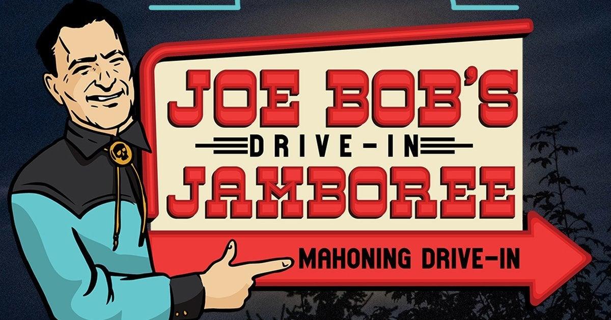 joe bob jamboree logo drive in