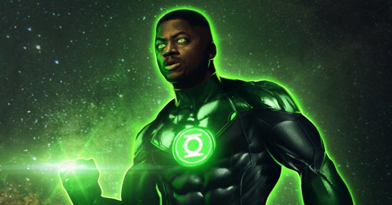 Liga da Justiça de Zack Snyder Wayne T. Carr Lanterna Verde; John Stewart