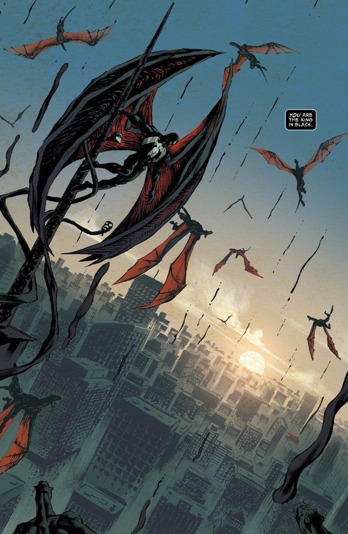 King In Black 5 Spoilers Ending Venom Is New King In Black