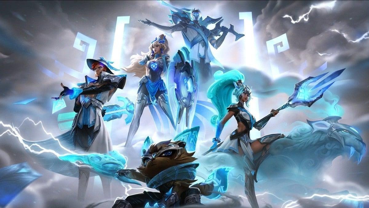 League of Legends Damwon Worlds Skins