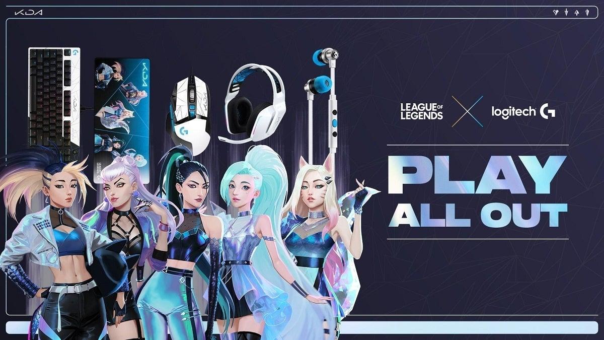 League of Legends Logitech G KDA