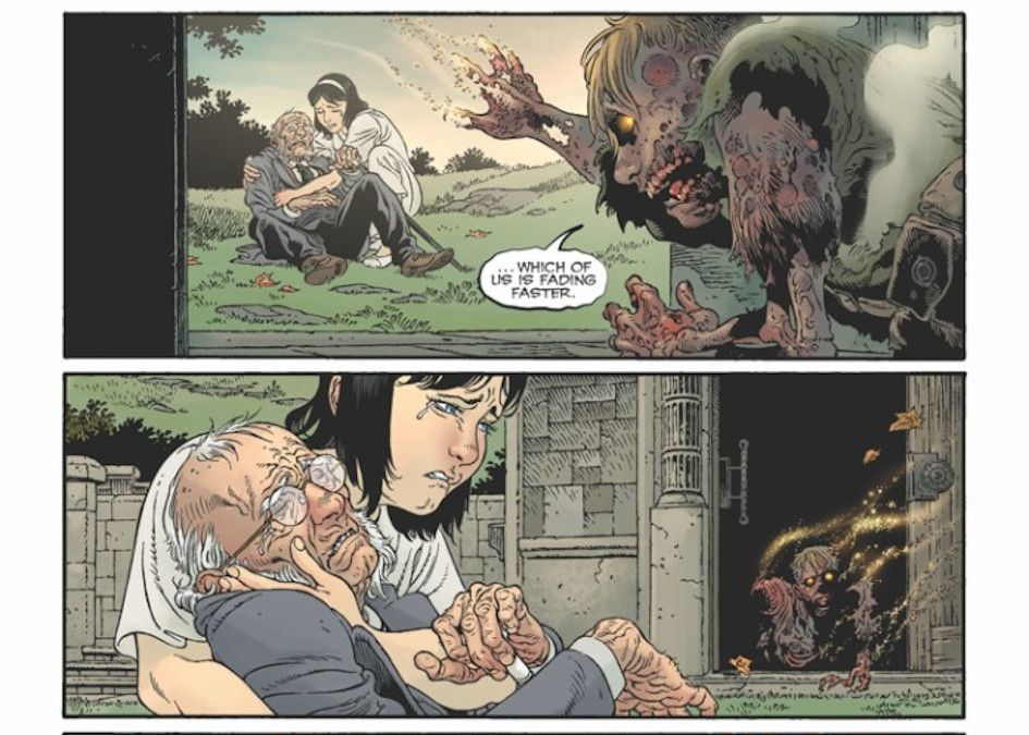 Locke and Key Sandman Hell and Gone Preview