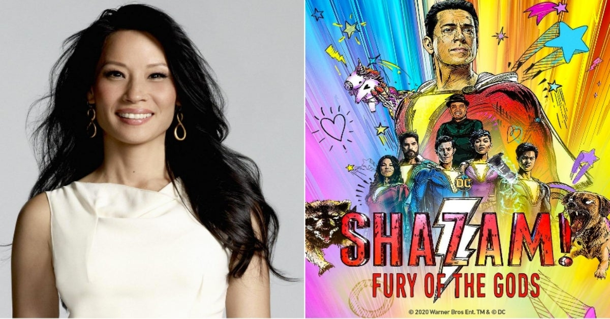 Lucy Liu Shazam Fury of the Gods