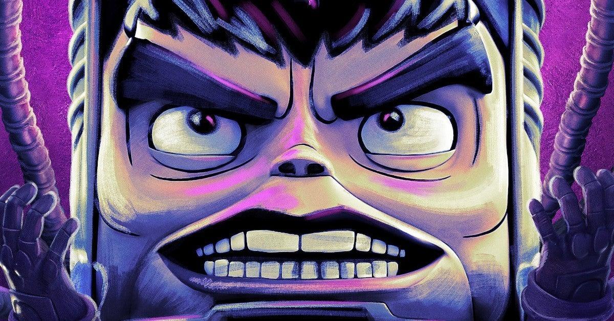 Marvel MODOK TV Series Poster
