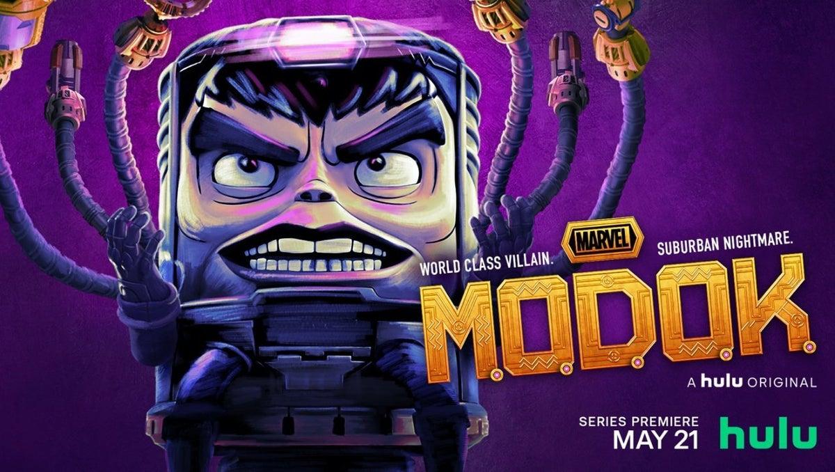 Marvel MODOK TV Series Wallpaper Poster