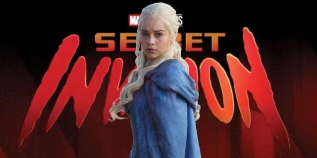 Marvel Secret Invasion TV Series Emilia Clarke Cast