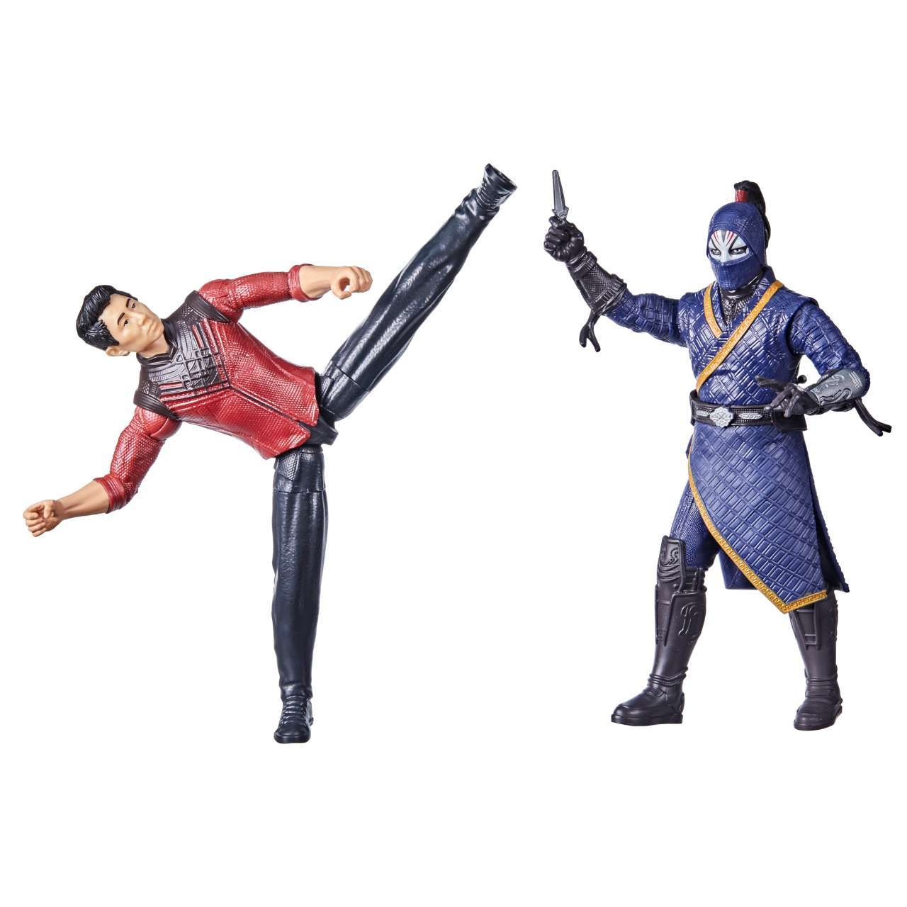 MARVEL SHANG-CHI AND THE LEGEND OF THE TEN RINGS 6-INCH BATTLE PACK Figures - oop (1)