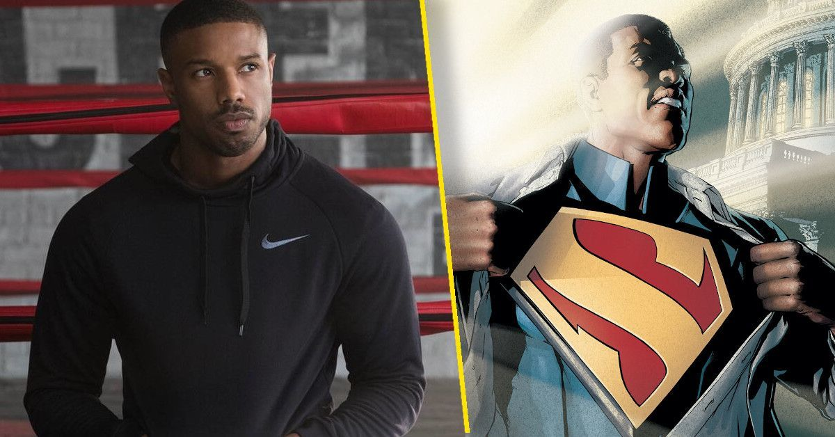 michael b jordan superman