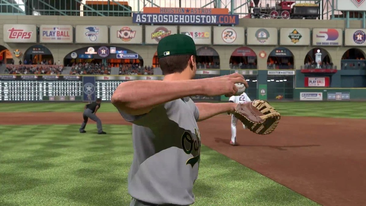 MLB The Show 21 A's