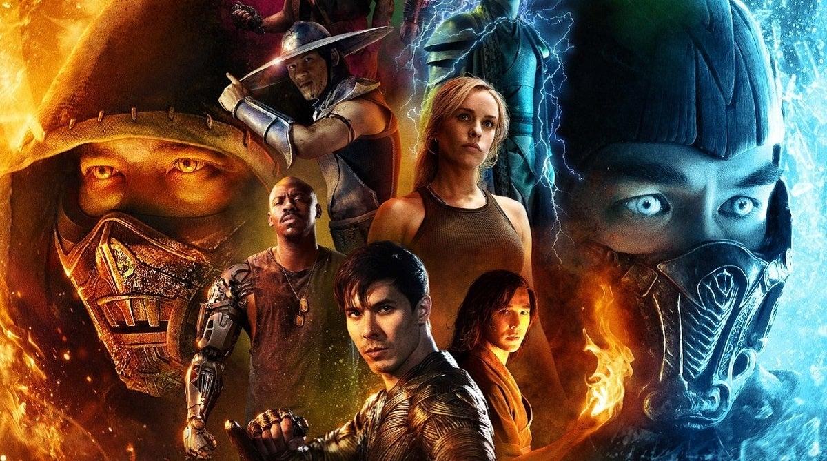 Mortal Kombat IMAX Poster