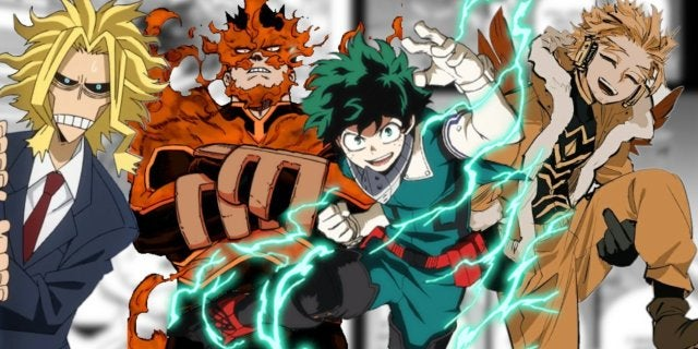 My Hero Academia 309 Spoilers New Hero Team Up