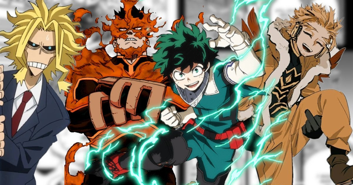 My Hero Academia 309 Spoilers New Hero Team Up
