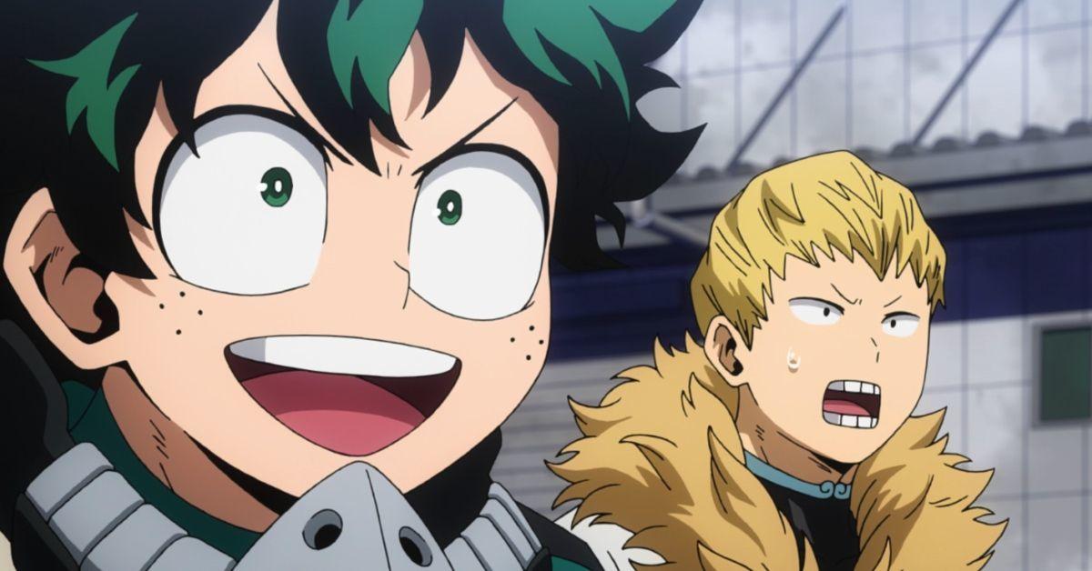 My Hero Academia Episode 91 Izuku Mashirao