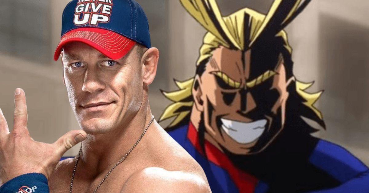 My Hero Academia John Cena WWE