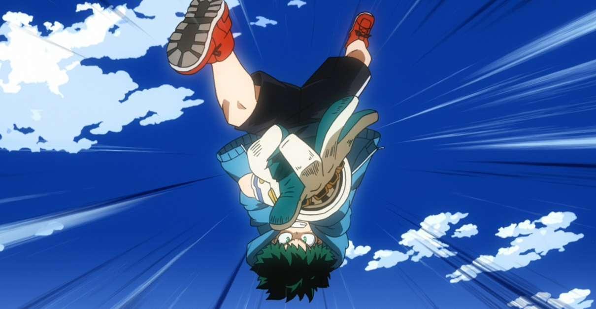 My Hero Academia Midoriya Tech