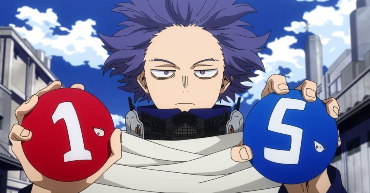 My Hero Academia Season 5 Hitoshi Shinso